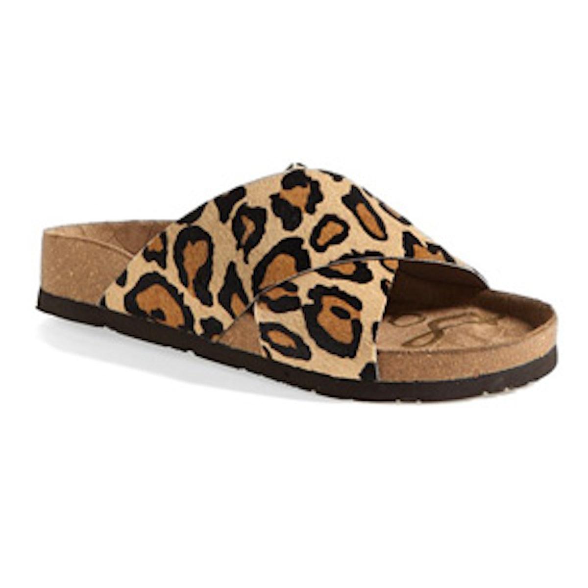 Leopard Print Adora Sandal