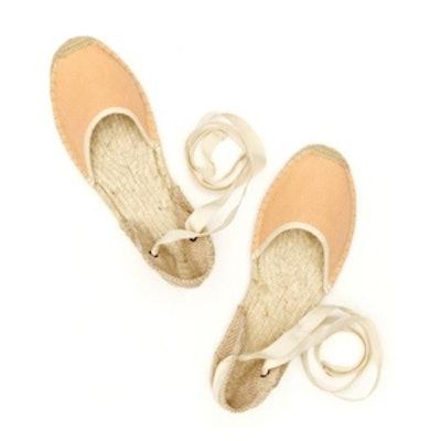 Sandal Woven in Peach