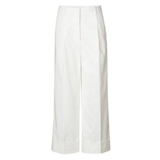Wide Leg Cuffed Pant
