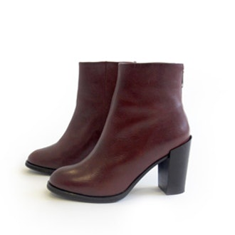 Ankle Boots in Dark Brown