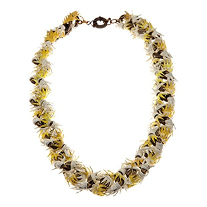 Thorny Leather Necklace