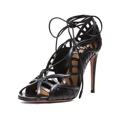 Lola Leather Heels In Black