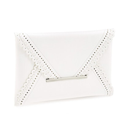Harlow Scalloped Clutch