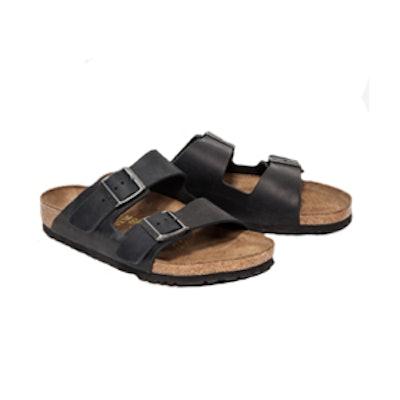 Arizona Oiled Black Sandal