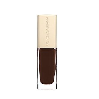 Nail Polish In Dark Chocolate Brown
