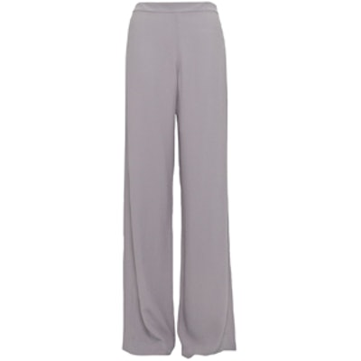 Crepe Flared Trouser