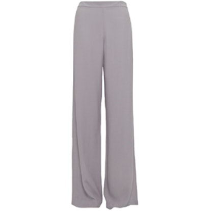 Crepe Flared Trouser