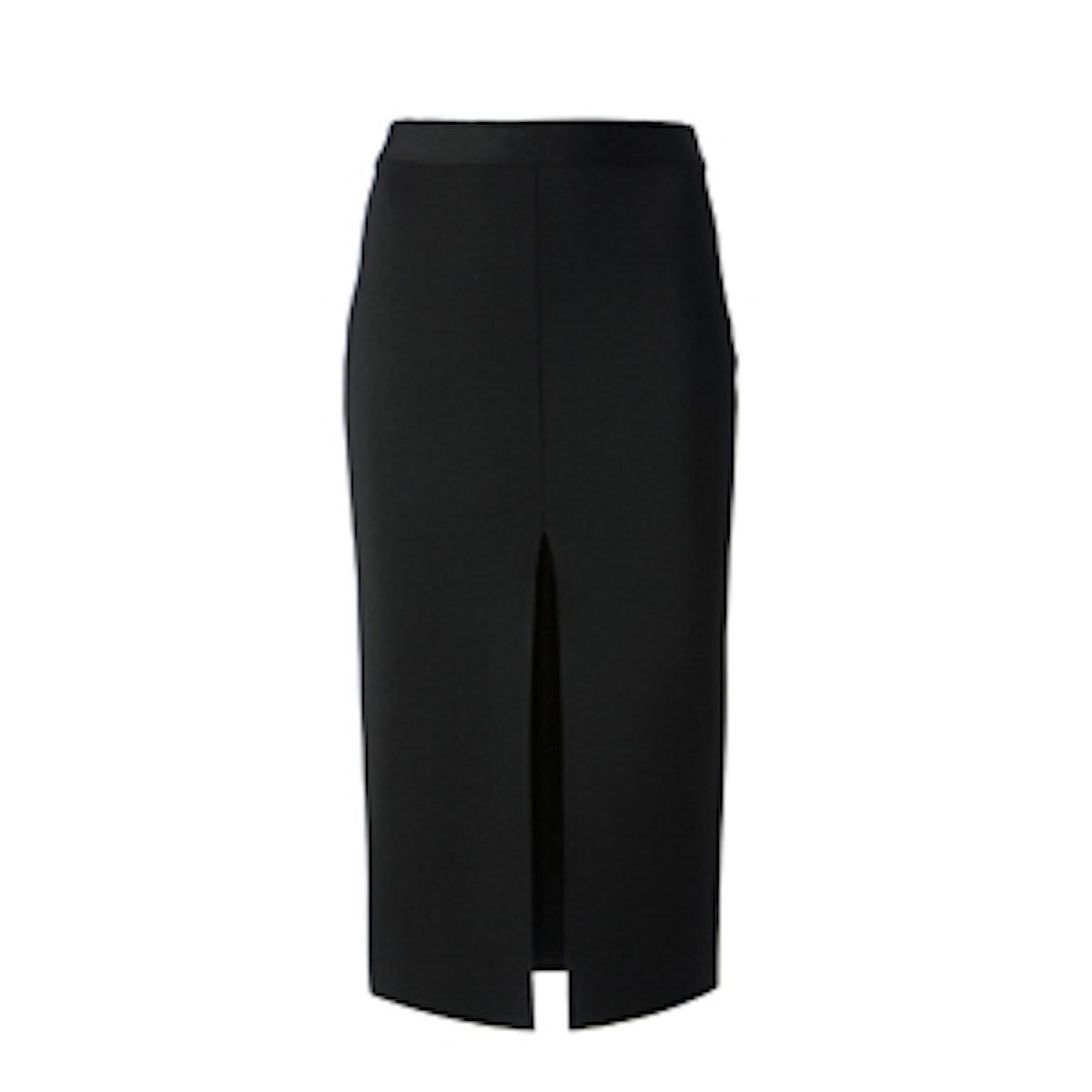 Central Slit Skirt