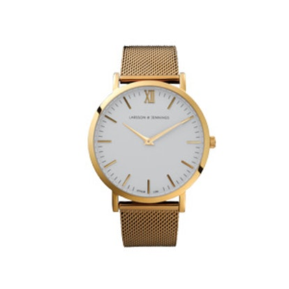 Chain Metal Gold Watch