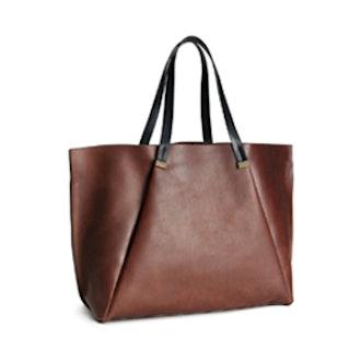 Leather Handbag in Brown
