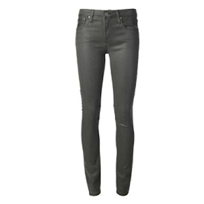 Coated Grey Jean