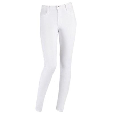 Cigarette Jeans in Frost White