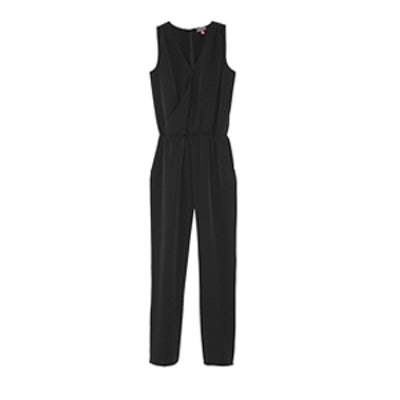 Front Wrap Jumpsuit