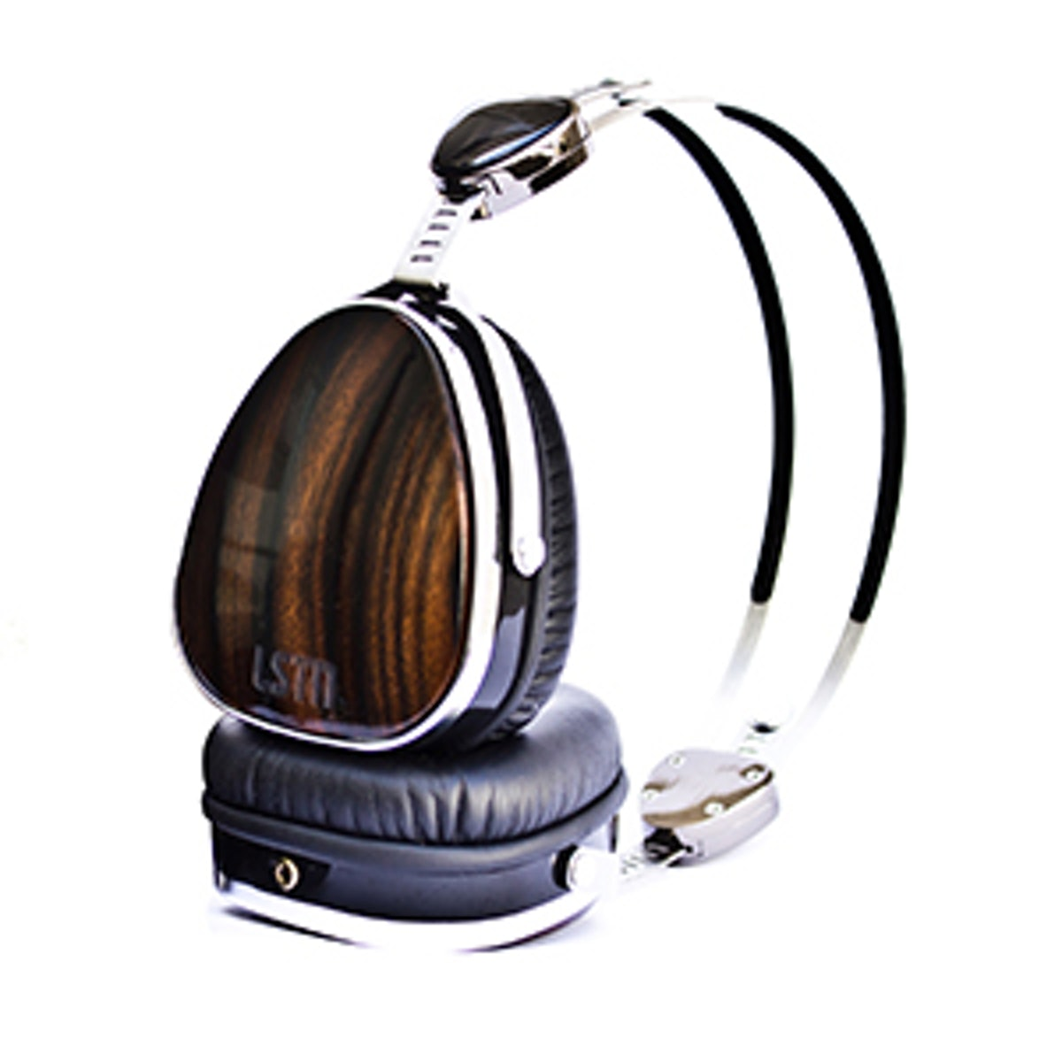Ebony Wood Troubadours Headphones