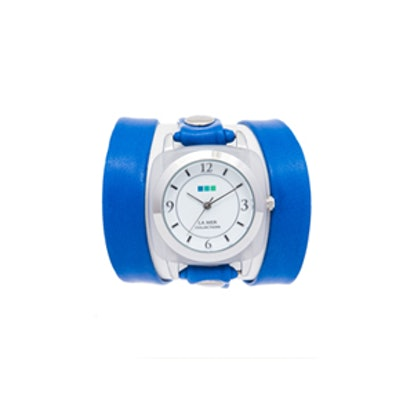 Blue Moonstone Wrap Watch