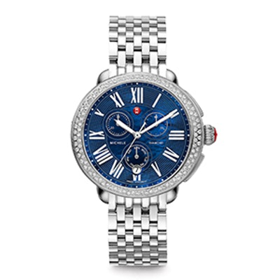 Diamond Watch Head & Bracelet Strap
