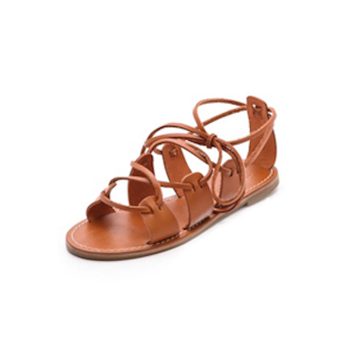 Kahlahari Lace Gladiator Sandal