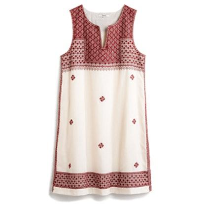 Stitch Mosaic Shift Dress