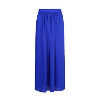Maxi Skirt In Blue