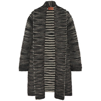 Oversized Wool-Blend Cardigan