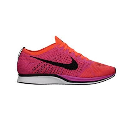Flyknit Racer Sneaker In Pink Flash