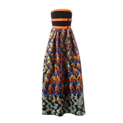 Freya Textured Print Dress
