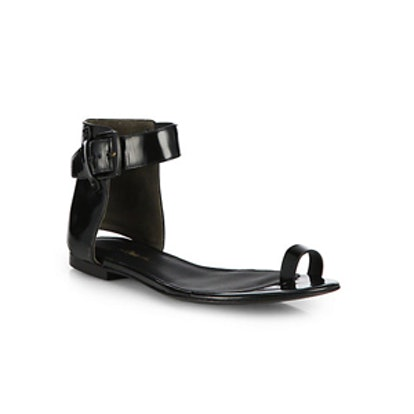 Isabela Leather Toe Ring Sandals