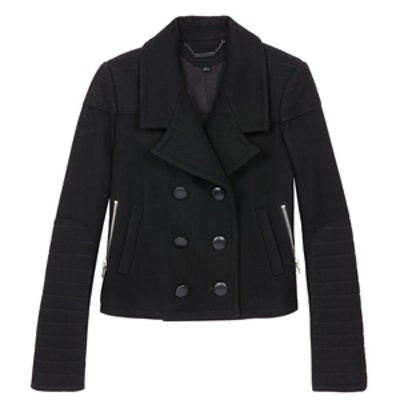 Claude Double Breasted Wool Jacket
