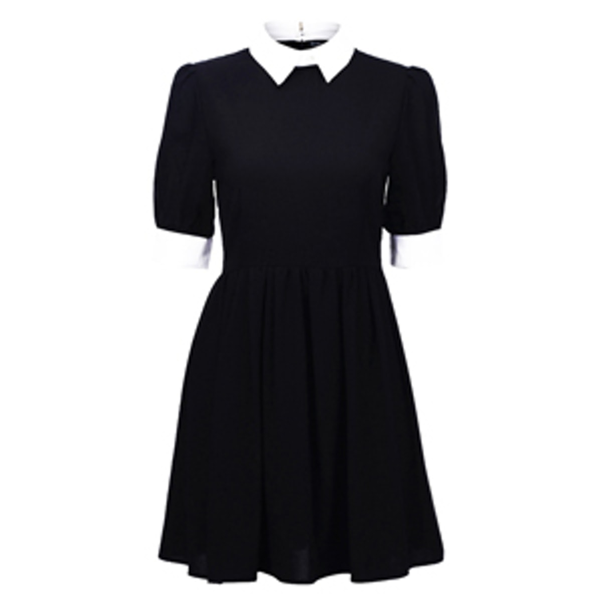 Retro Lapel Dress