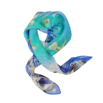 Starfish Scarf in Blue