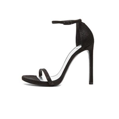 Textured Leather Heels