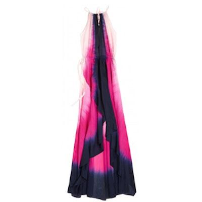 Dip Dye Silk Dress