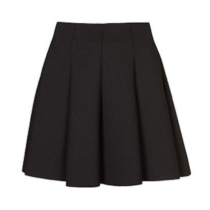 Scuba Skater Skirt In Black