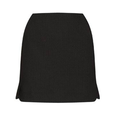 Waffle Texture Pelmet Skirt