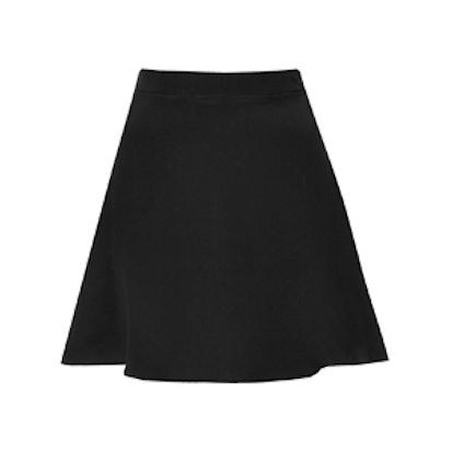 Morocain Silk Flippy Skirt by Boutique