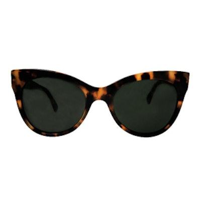 Square Cat Eye Sunglasses