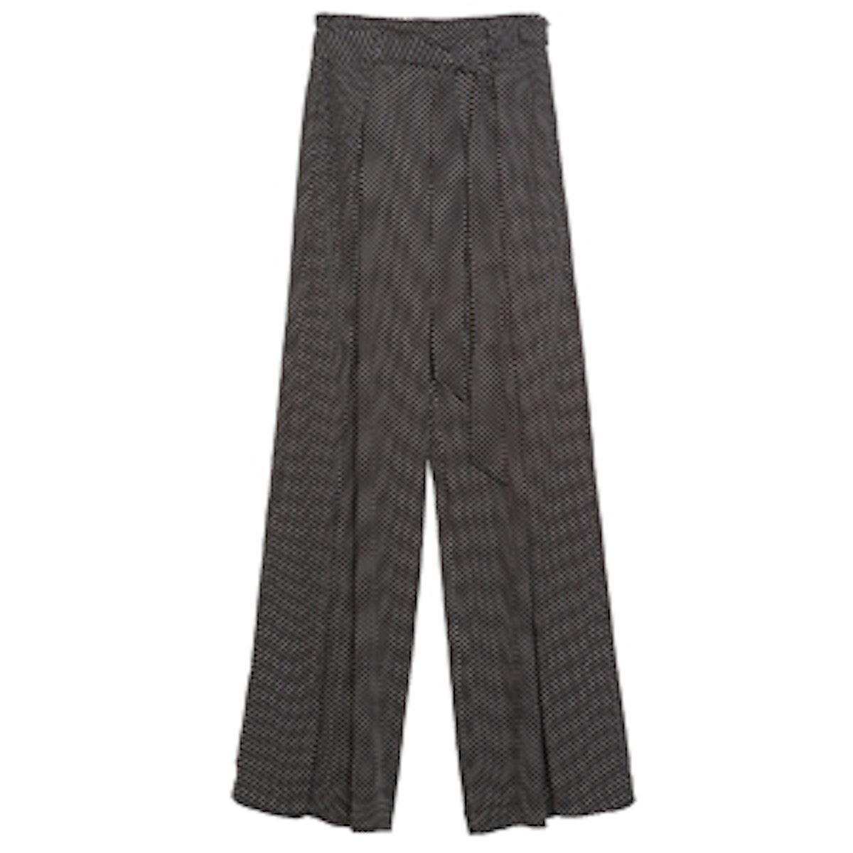 Wide Printed Pants