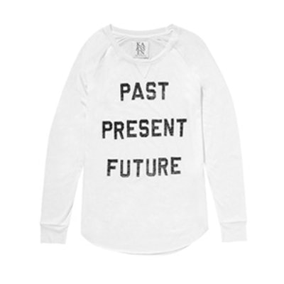 Past Present Future Long Sleeve Tee