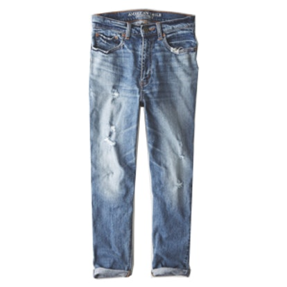 Distressed Mom Jeans