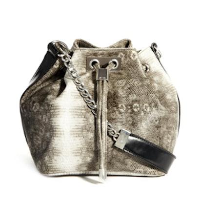 Chunky Metal Duffel Bag