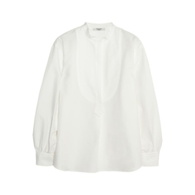 Smoking Cotton And Linen Shirt