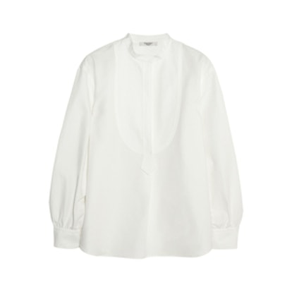 Smoking Cotton And Linen Shirt