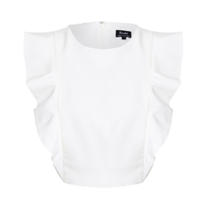Nicky Frill Crop Top