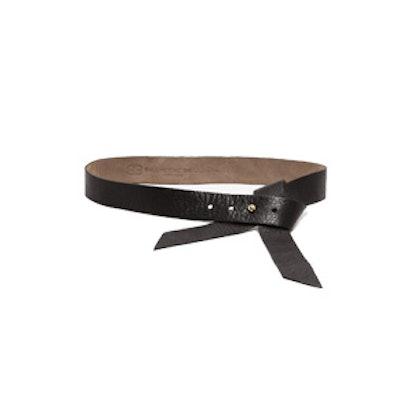 Black Ribbon Belt