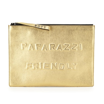 Paparazzi Friendly Metallic Clutch Bag
