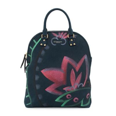 Nubuck Satchel Bag