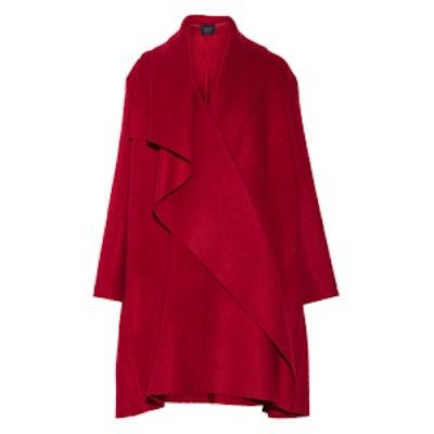 Oversized Mohair Blanket Coat