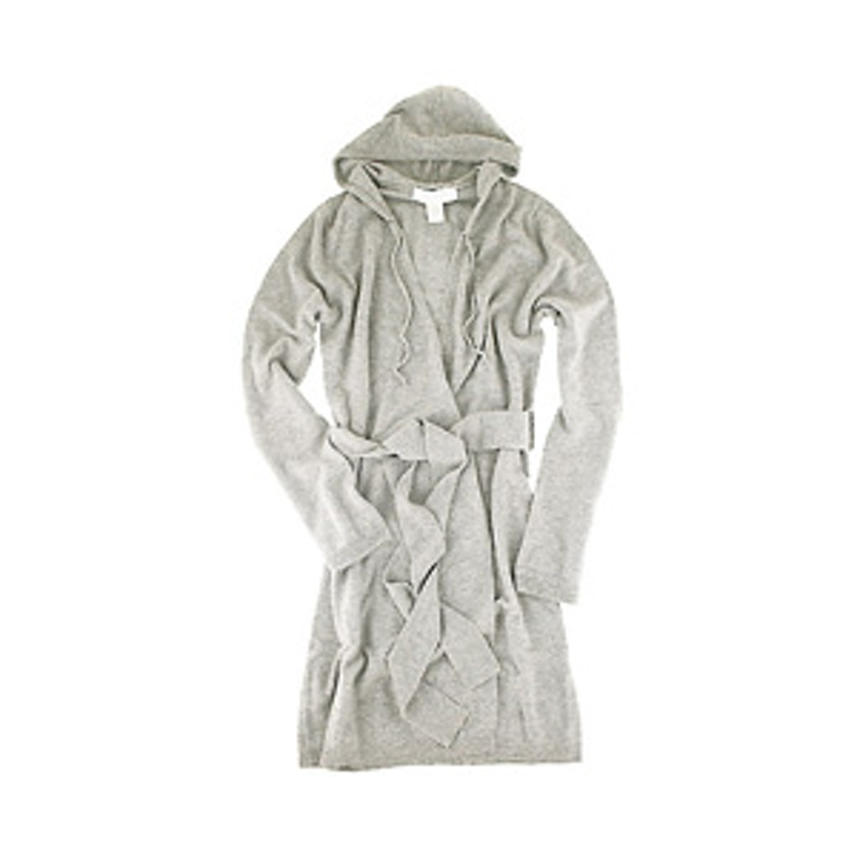 Cashmere Short Wrap Hoodie