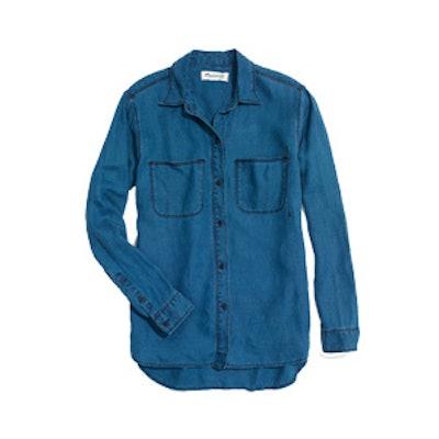 Indigo Linen Ex-Boyfriend Shirt