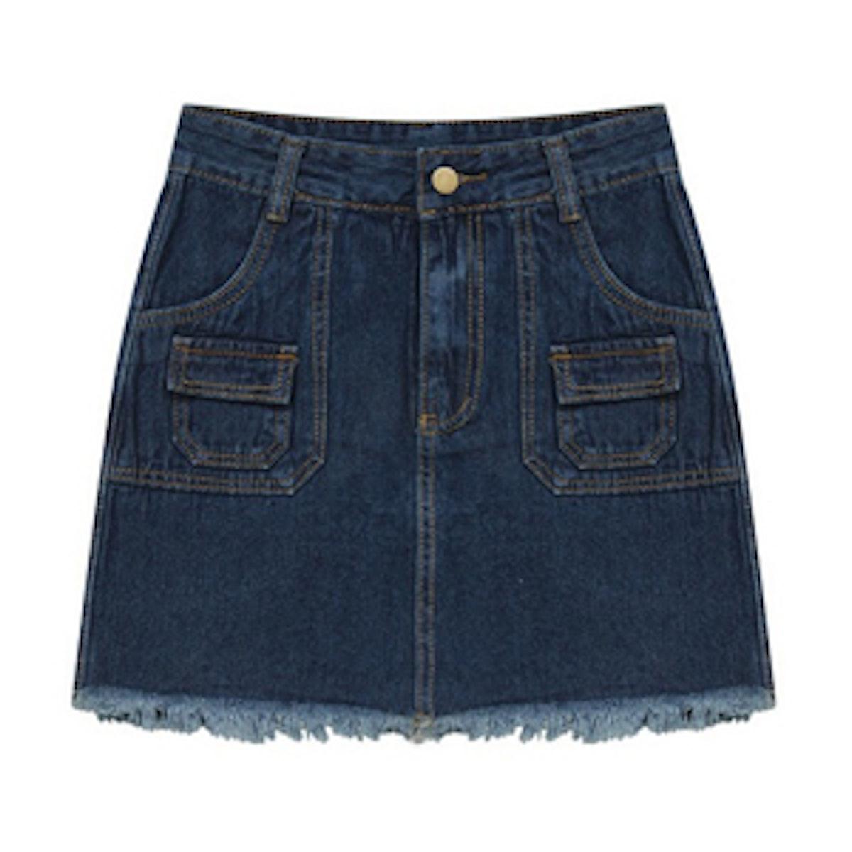 Retro Style Pencil Skirt